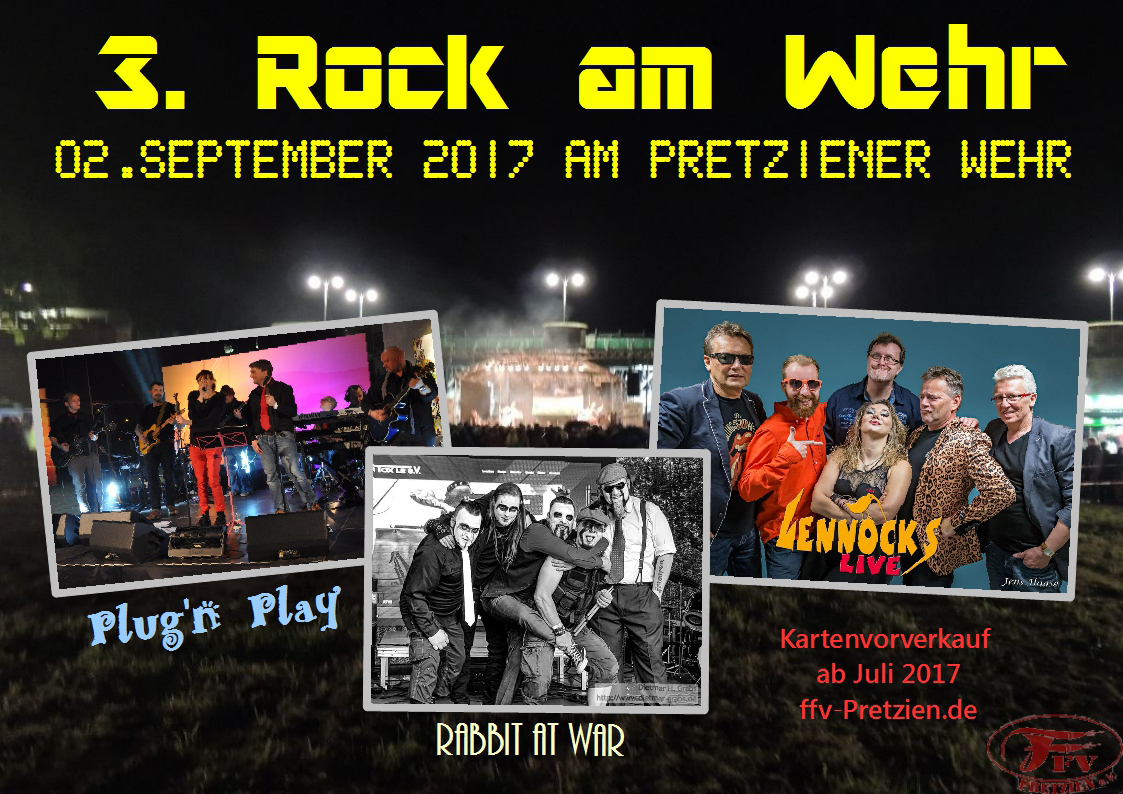 3. Rock am Wehr 2017